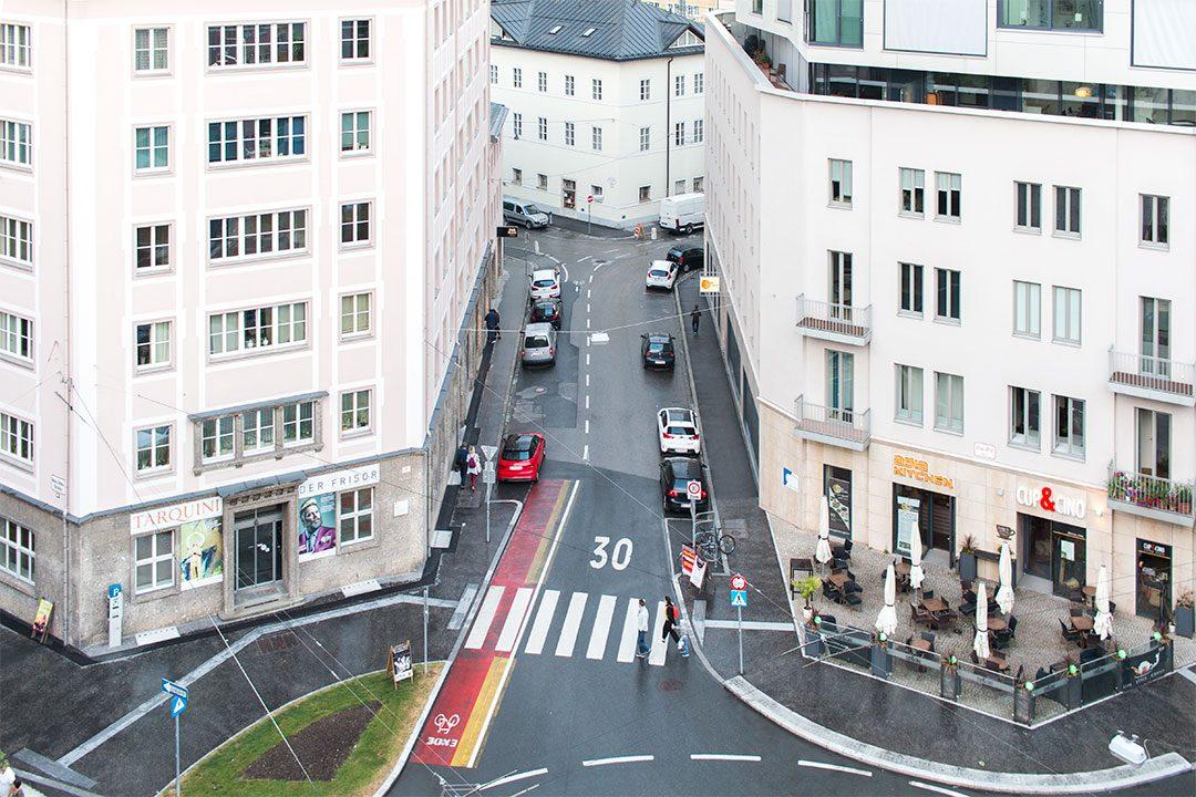 above-street