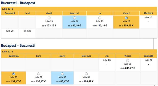 bilet-avion-bucuresti-budapesta